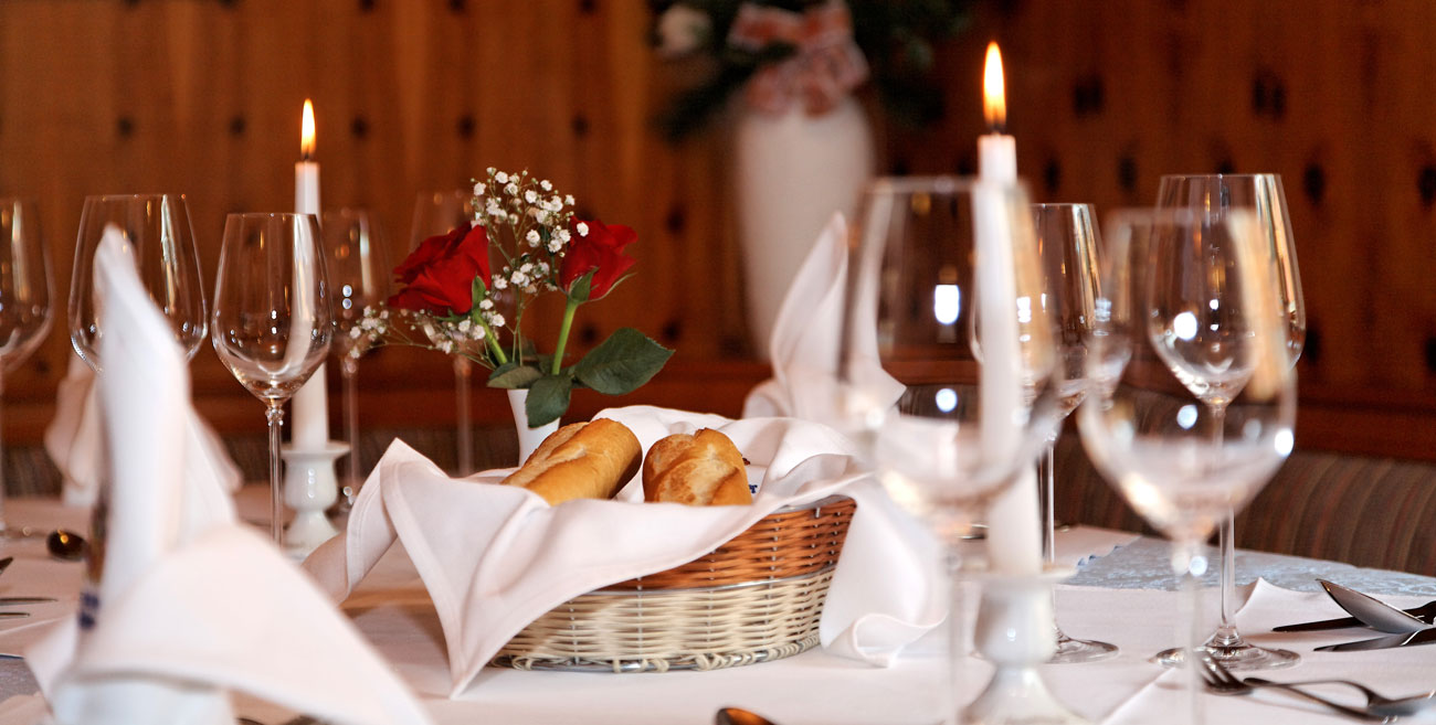 Restaurant im Hotel Kampfhammer im Bayerischen Wald