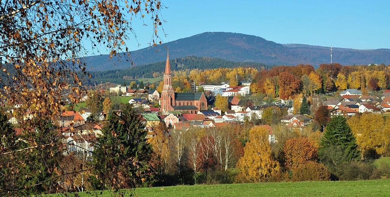 Zwiesel im Bayerischen Wald