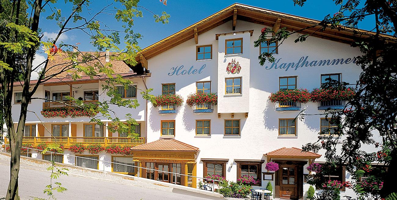 Hotel Gasthof Kapfhammer In Bayern Urlaub Am Nationalpark
