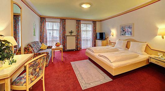 gemütliches Zimmer im Hotel Kapfhammer in Zwiesel
