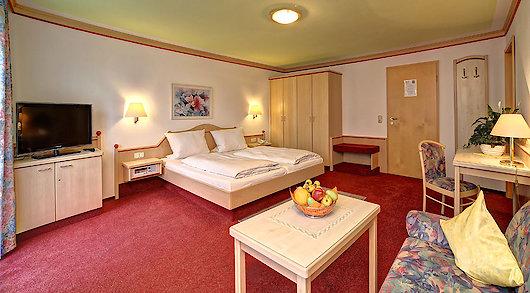 Urlaubshotel Bayerischer Wald mit komfortablen Doppelzimmer