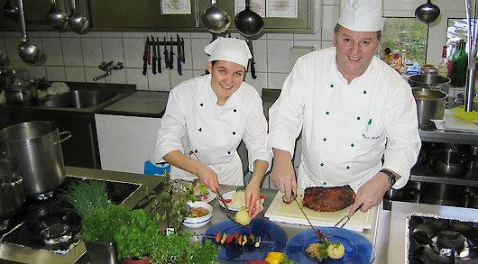 Hotel in Bayern mit großzügiger Küche
